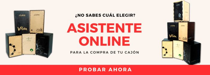 asistente online cajon flamenco